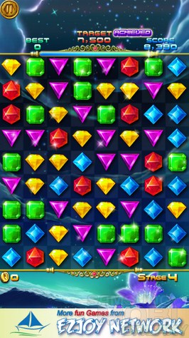 Jewels Miner 2 - красивая аркада для Samsung Galaxy