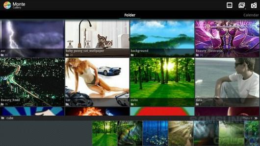 Monte Gallery - Image Viewer – великолепная галерея для ваших изображений и видео для Android