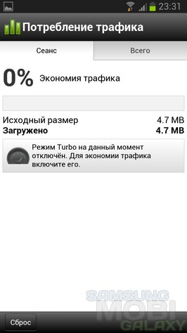 Opera Mobile 12.10 для Samsung Galaxy S3 Ace 2 Note 2 Tab 2 Gio