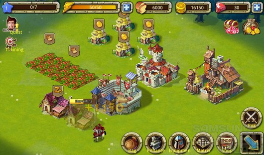 Rage Of Empire – стратегия с примесью РПГ для Android