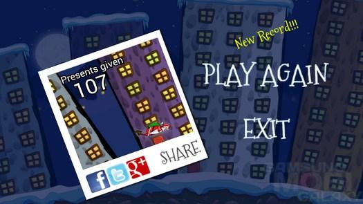 Игра Беги! Санта-беги! для Android