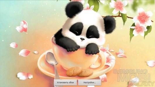 Sleepy Panda Wallpaper – не разбудите милую панду! для Android