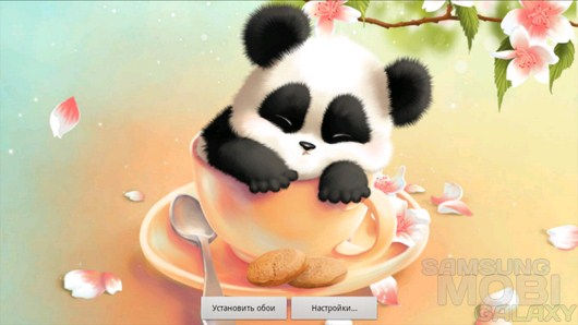Sleepy Panda Wallpaper – не разбудите милую панду! для Android