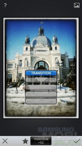 Фоторедактор Snapseed для Samsung Galaxy S3 Ace 2 Note 2 Tab и Gio