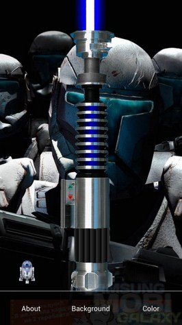 Star Wars LightSaber - световой меч для Андроид