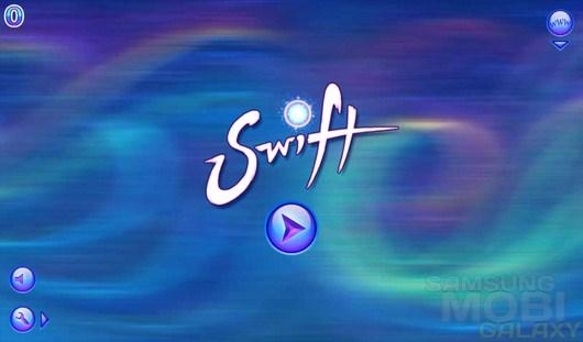 Swift – шарик-стрелок с необычными возможностями для Android