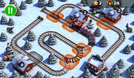 Train Crisis Christmas – помощь Деду Морозу в доставке подарков для Android