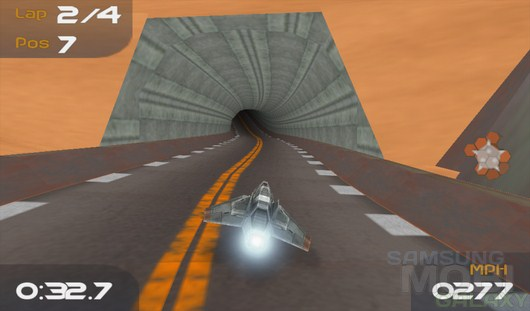 TurboFly 3D – трехмерные гонки на космолетах для Android