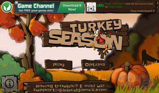 Turkey season – веселая охота на индеек для Android