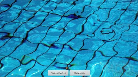Water Drop Live Wallpaper – эффект жидкого экрана для Android