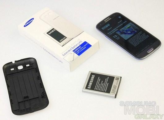 Для Samsung Galaxy S3 уже скоро появится комплект с более мощной батареей