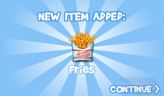 Burger – король файстфудов для Android