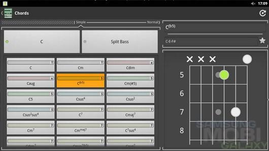 Chord! Free (Guitar Chords) – сборник аккордов для гитары для Android