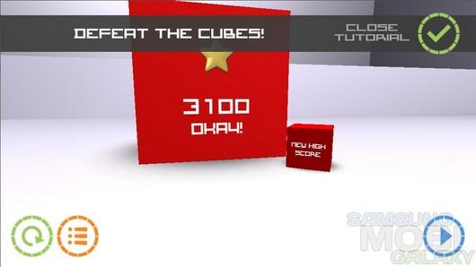 Cubes vs. Spheres – сферично-кубическая война для Android