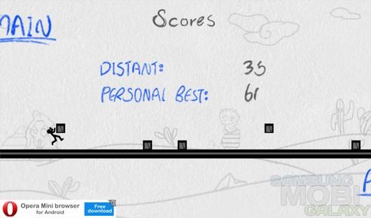 Doodle Runner – испытание бегом для Android