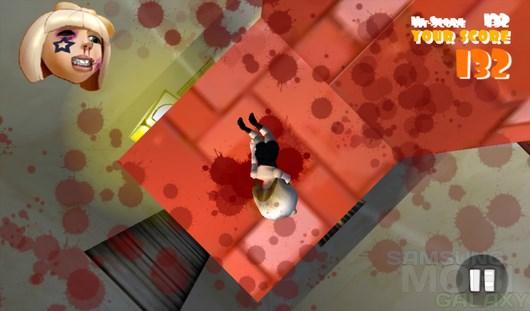 Falling Fred – кровавое свободное падение для Android