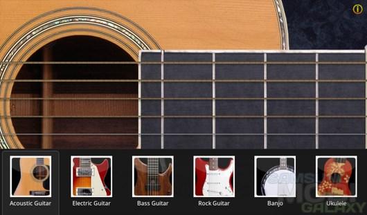 Guitar Star – гитарный ансамбль для Android