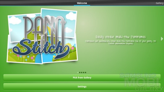 PanoStitch Panorama HD – создание панорамных фото для Android