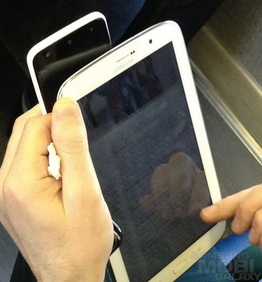 Эксклюзивные фотографии Samsung Galaxy Note 8.0
