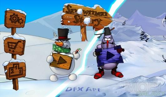 Snowmen Story: Dark Side – расстреливайте снежками снеговиков для Android