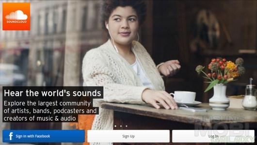 SoundCloud – музыкальная соц. сеть для Android