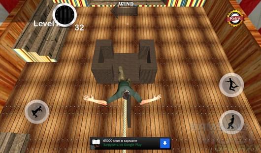 TightRope Walker 3D – держим баланс для Android