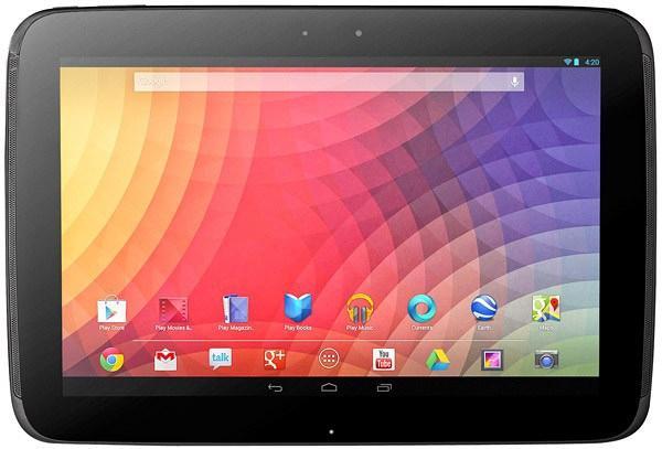 Внешний вид Samsung Google Nexus 10 P8110