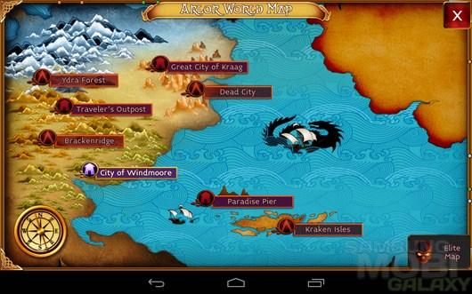 Arcane Legends – процветающее средиземье для Android