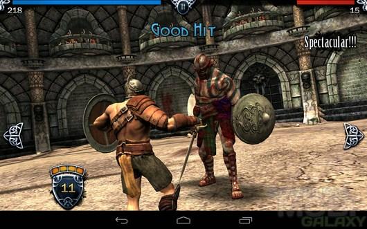 BLOOD & GLORY – кровавая арена для Android