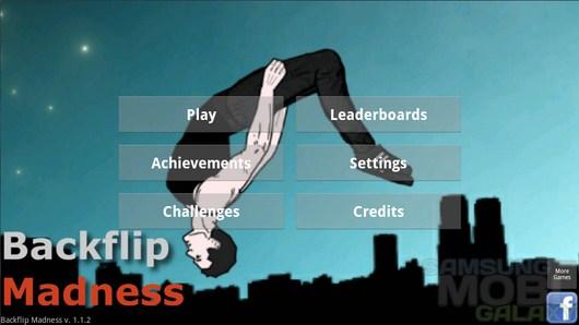 Backflip Madness – опасные прыжки сальто для Android