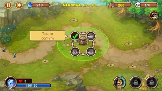Castle Defense – защита людского рода для Android