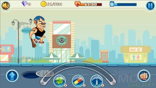 Crime Street Run – сбиваем денежку для Android