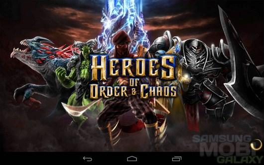 Heroes of Order & Chaos – доблесть и честь для Android