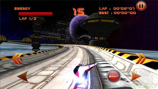 LevitOn Racers HD – шальные космогонки для Android