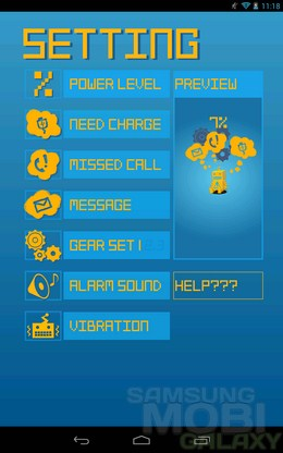 Mechanic T the Battery Runner – робот следит за зарядом для Android