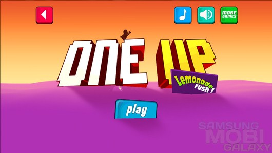 One Up - Lemonade Rush! – море газировки для Android