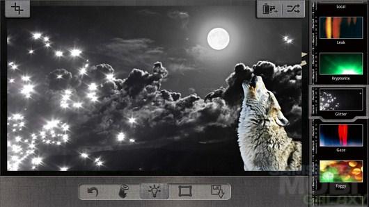 Pixlr-o-matic – неплохой редактор изображений для Android