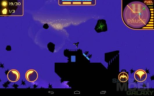 Planet Descent – в поиске ископаемых для Android