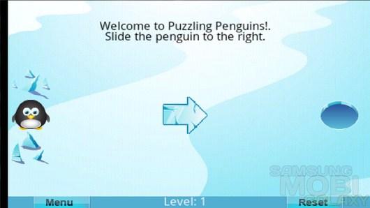 Puzzling Penguins – голодный пингвин для Android