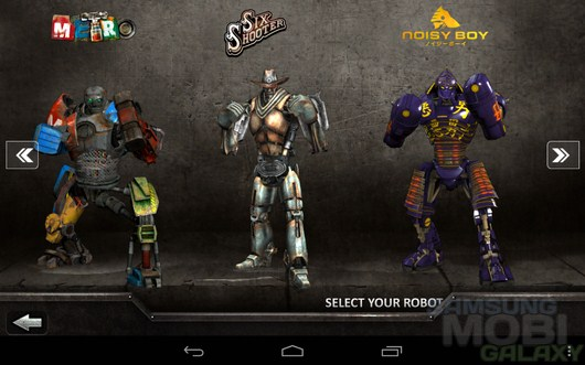 Real Steel HD – битва роботов для Android