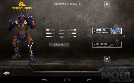 Real Steel HD – битва роботов для Android