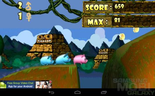 Temple Piggy – беглые свинка для Android