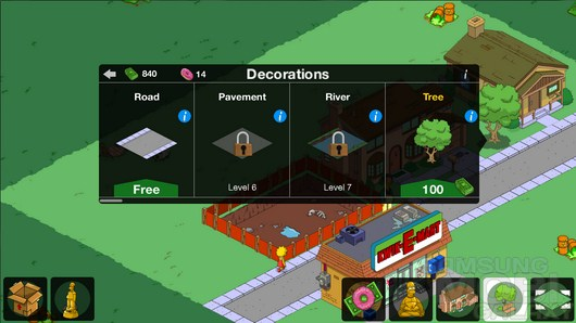 The Simpsons: Tapped Out – отстраиваем Спрингфилд для Android
