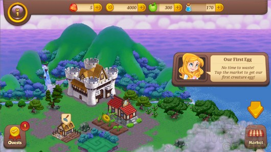 Tiny Castle – расцвет царства для Android