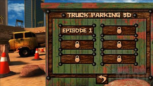 Truck Parking 3D – парковка грузовика для Android