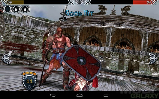 BLOOD & GLORY: LEGEND – возрождение арены для Android