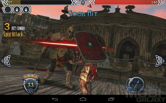 BLOOD & GLORY LEGEND - возрождение арены для Android.