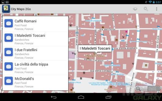 City Maps 2Go Offline Maps – оффлайн карты всего мира для Android