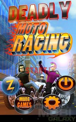 Deadly Moto Racing – в стиле байкера для Android
