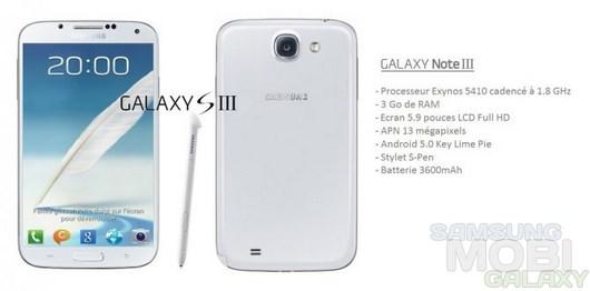 Скоро представят новый Galaxy Note III